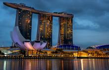 Singapore Marina District At T...