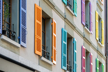 Windows With Different Color S...