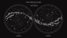 Star Constellations Around The...