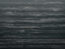 Black Wooden Textured Backgrou...