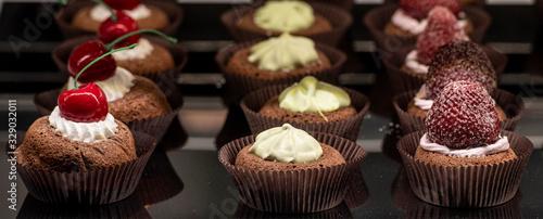 Fototapeta Mini muffin