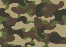 Camouflage Seamless Pattern. A...