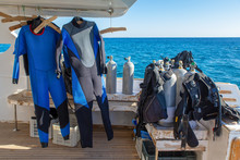 Diving Equipment On-board Of B...