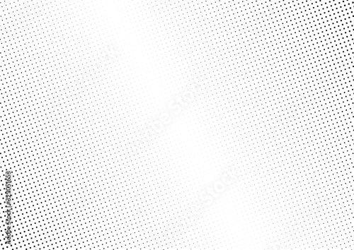 Abstract halftone dotted background. Monochrome grunge pattern with dot and circles.  Vector modern pop art texture for posters, sites, business cards, cover, postcards, labels, stickers layout.