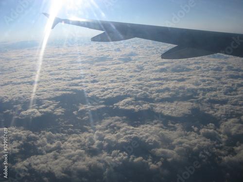 Photo Vista desde un avión en el aire