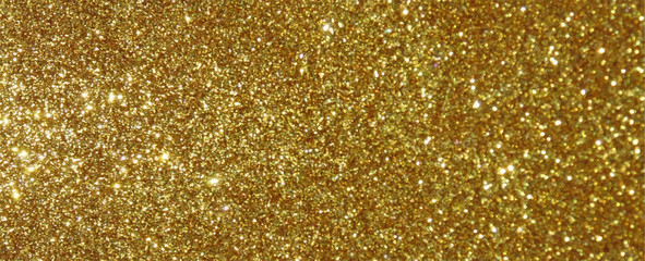Gold glitter sparkle texture background vector