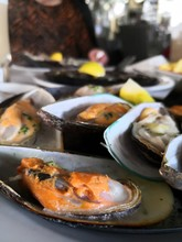 Delicious Seafood, Mussles In ...