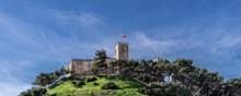 View Of Sohail Castle, Fuengirola, Malaga Province, Andalucia, Spain, Western Europe.