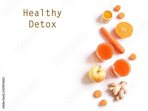 Obraz Detox orange drink - fototapety do salonu