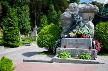 The Grave Of Ukrainian Writer ...