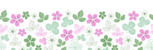 Dewberry Blossom-Flowers In Bl...