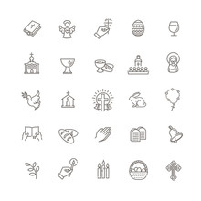 Christianity Icon Set