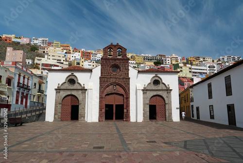 Church of Assumption in San Sebastian, La Gomera island, Canary islands, Spain Wallpaper Mural