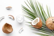 Skin Care Cream With Coconut O...