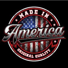 Grunge Usa Badge/stamp Vector Design.