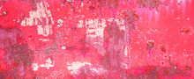Red White Rustic Abstract Weat...