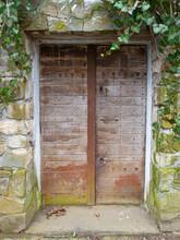 Old Wine Cellar Door To Abando...