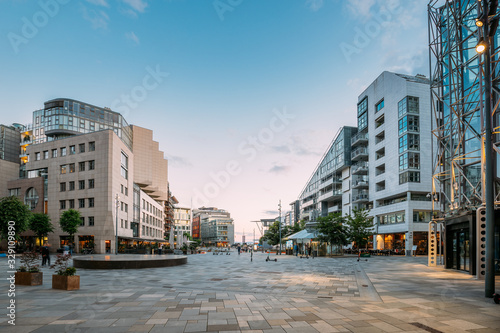 Oslo, Norway. Residential Multi-storey Houses In Aker Brygge District In Summer Evening. Famous And Popular Place. #329109890