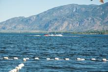 Summer Recreation On Lake