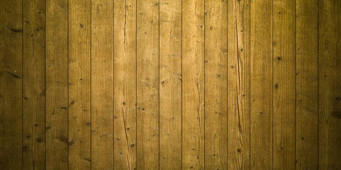 sepia vertical wooden planks - wood textur for rustic background - top view