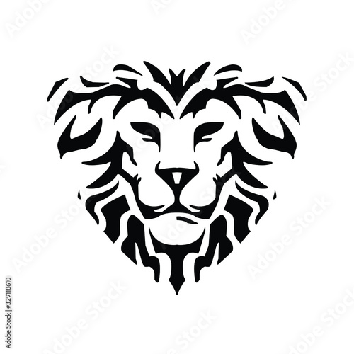 Fototapety, obrazy: Abstract lion king artistic design - VECTOR