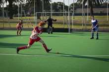Field Hockey Players Playing H...