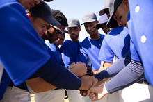 Baseball Players Before The Ma...