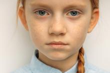 Close-up Portrait Of Caucasian...