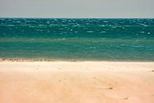 Beach By The Sea, Windswept.
