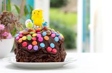 Fun Kids Chocolate Easter Cake...