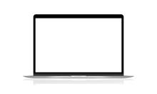 Realistic Laptop Vector Illust...