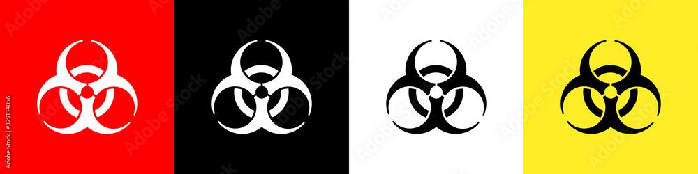 Fototapeta Biohazard sign