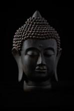 Meditating Buddha Statue Isola...