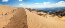 Cerro Blanco Sand Dune Near Nasca Panoramic View