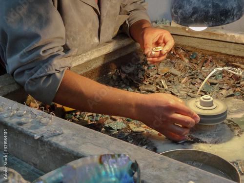 Photo Taller de producción de artesanías en Perú