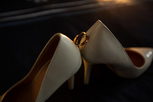 Wedding Shoes With Wedding Rings