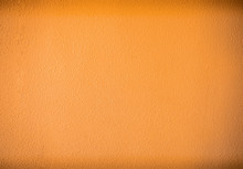 Abstract Rough Wall Orange Col...