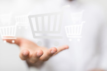 Shopping Cart As Part Of The N...