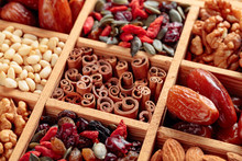 Dried Fruits, Various Nuts And...