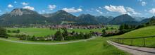 Blick Auf Oberstdorf Und Die A...