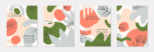 Set Of Spring Vector Collages ...