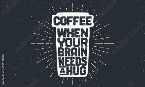 Obraz na plátně Cup of coffee