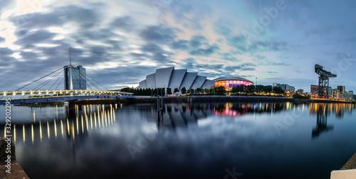 Skyline of Glasgow, Scotland, UK