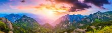 Beautiful Huangshan Mountains ...