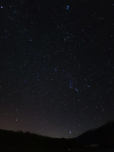 Night Sky With Orion Constella...