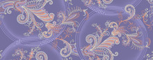 Classic Paisley And Lace Patte...