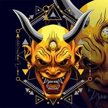 KING DEVIL DESIGN GEOMTRIC