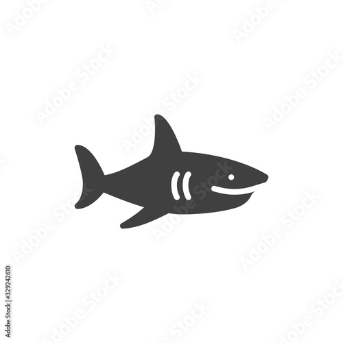 Photo Shark vector icon