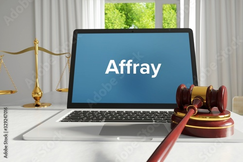 Photo Affray – Law, Judgment, Web