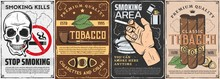 Tobacco And Smoking Items Retr...